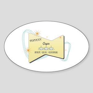 Instant Glazier Oval Sticker