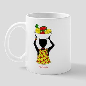 Fille tresse Mug