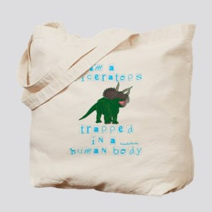 I'm a Triceratops Tote Bag
