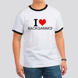 I Love Backgammon T-Shirt