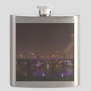 Border Wars Flask