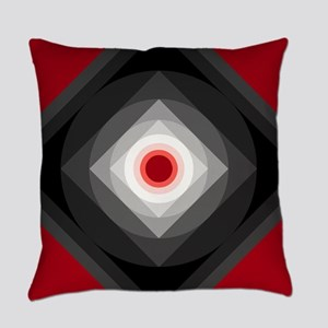 Red/Black Everyday Pillow