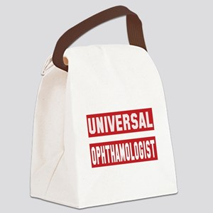 Universal Ophthamologist Canvas Lunch Bag