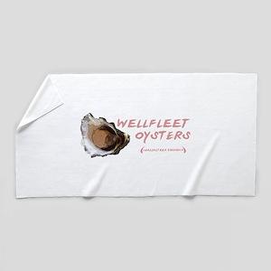 Wellfleet Oysters Beach Towel