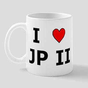 I Love JPII Mug