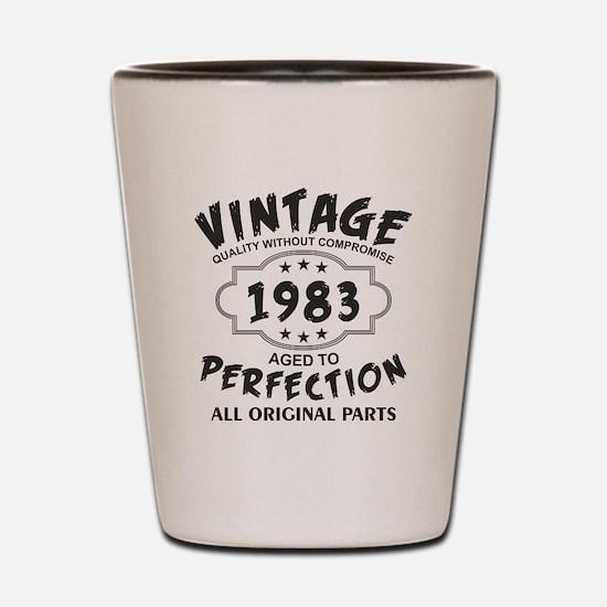 Vintage 1983 Shot Glass