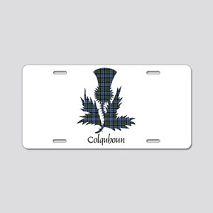 Thistle - Colquhoun Aluminum License Plate