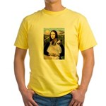 Mona / Gr Pyrenees Yellow T-Shirt