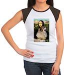 Mona / Gr Pyrenees Women's Cap Sleeve T-Shirt