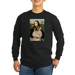 Mona / Gr Pyrenees Long Sleeve Dark T-Shirt