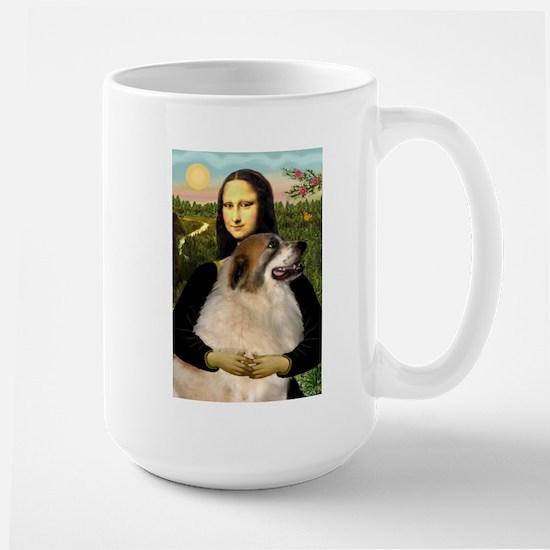 Mona / Gr Pyrenees Large Mug