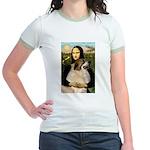 Mona / Gr Pyrenees Jr. Ringer T-Shirt