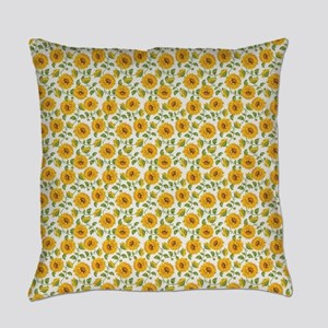 Sunflowers Everyday Pillow