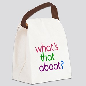 Aboot Canvas Lunch Bag