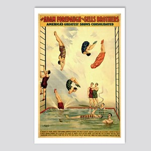 Troupe of Pearl Divers Postcards (Package of 8)