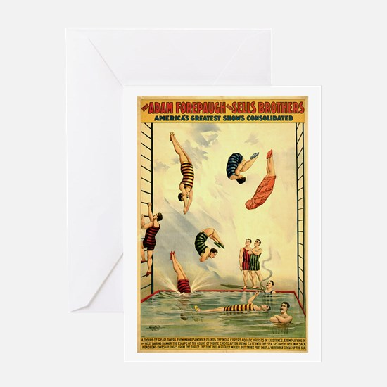Troupe of Pearl Divers Greeting Card