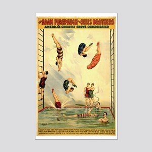 Troupe of Pearl Divers Mini Poster Print