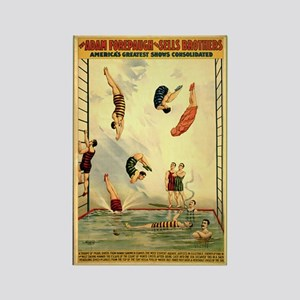 Troupe of Pearl Divers Rectangle Magnet