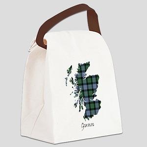 Map - Gunn Canvas Lunch Bag