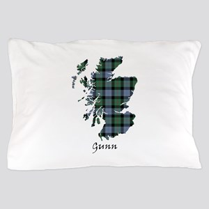 Map - Gunn Pillow Case