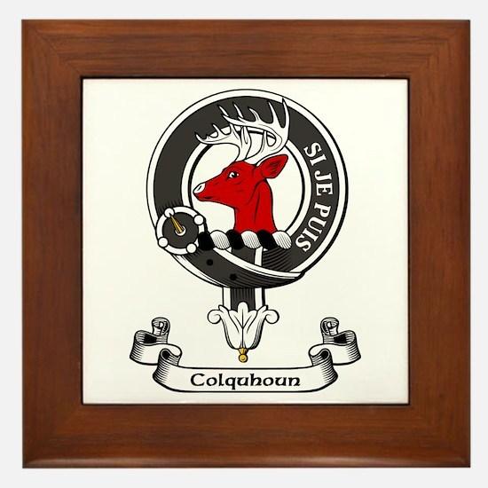Badge - Colquhoun Framed Tile