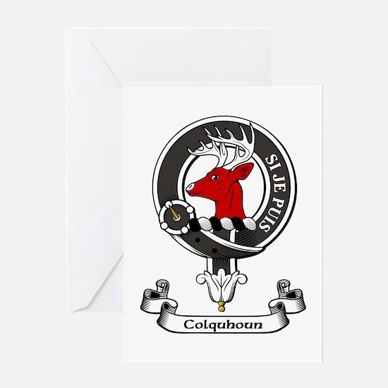 Badge - Colquhoun Greeting Card