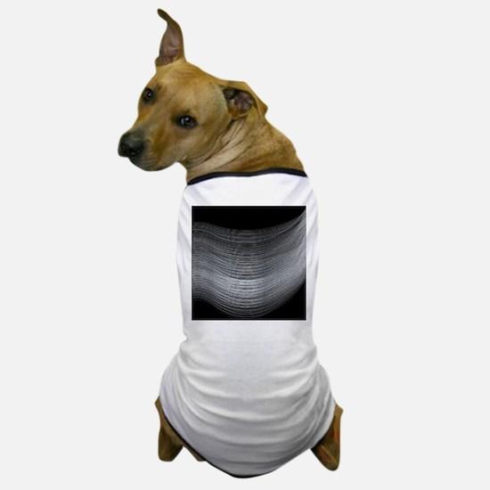 Fine Silver Thread Dog T-Shirt