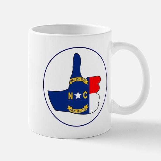 Thumbs Up North Carolina Mugs