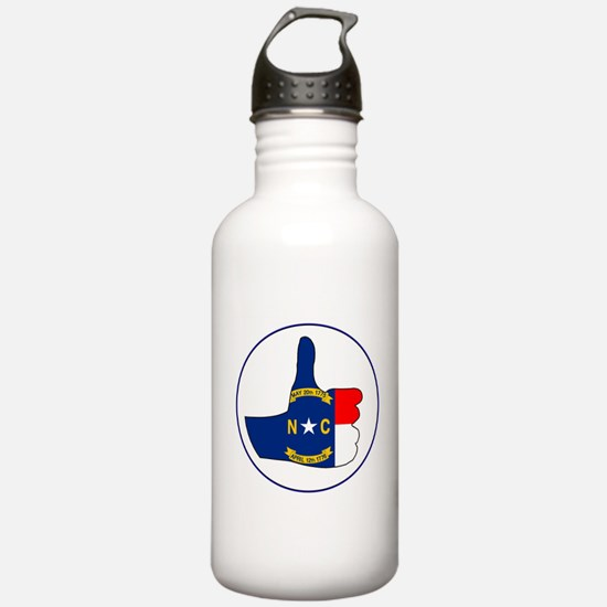 Thumbs Up North Caroli Water Bottle