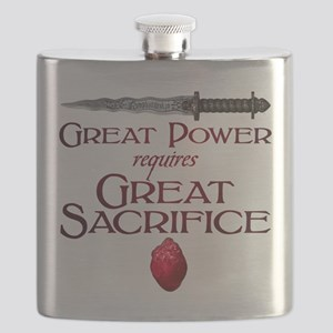 Great Power Requires Great Sacrifice Flask