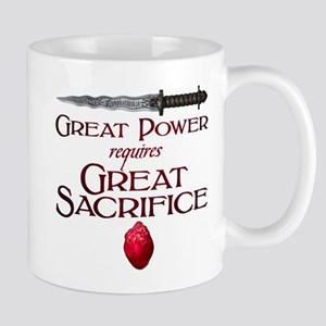 Great Power Requires Great Sacrifice Mug