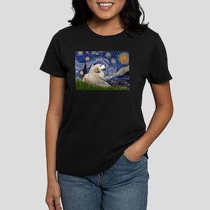 Starry / Gr Pyrenees Women's Dark T-Shirt