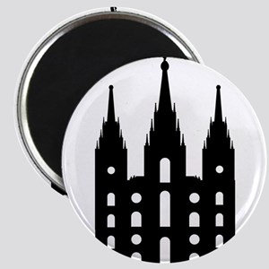 Mormon Style Temple Magnets