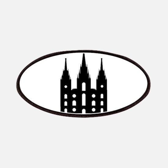 Mormon Style Temple Patch