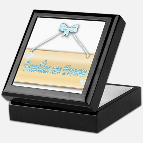 Families Are Forever Keepsake Box