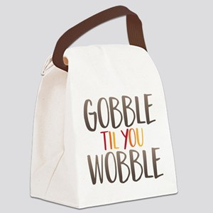 Gobble Wobble Canvas Lunch Bag