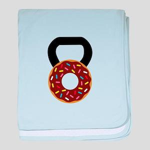 Donut Kettlebell baby blanket