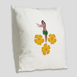 ISLANDER Burlap Throw Pillow