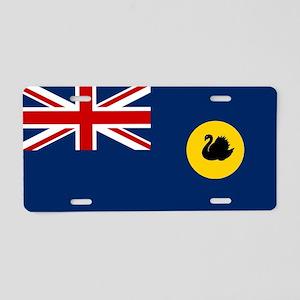 Western Australia Flag Aluminum License Plate