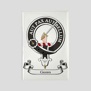 Badge - Gunn Rectangle Magnet