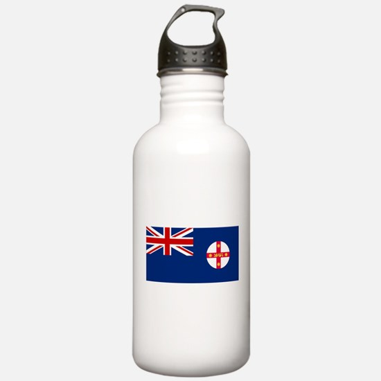 New South Wales Flag Water Bottle