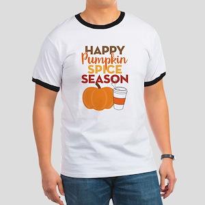 Pumpkin Spice Season Ringer T