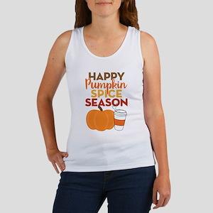 Pumpkin Spice Season Women's Tank Top