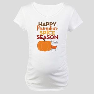 Pumpkin Spice Season Maternity T-Shirt