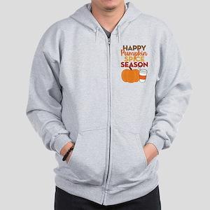 Pumpkin Spice Season Zip Hoodie