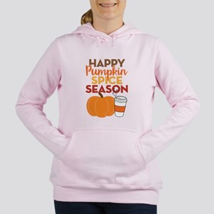 Pumpkin Spice Season Women's Hooded Sweatshirt