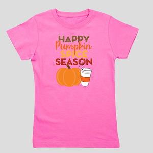 Pumpkin Spice Season Girl's Tee