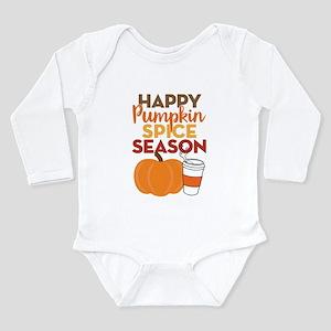 Pumpkin Spice Season Long Sleeve Infant Bodysuit