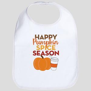 Pumpkin Spice Season Bib