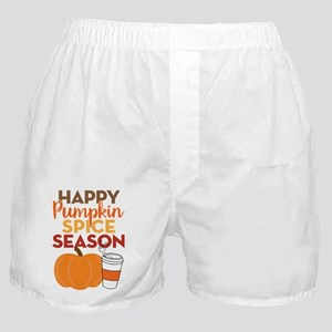 Pumpkin Spice Season Boxer Shorts